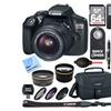 Canon EOS Rebel T6 DSLR Camera w/ 18-55mm Lens Memory & Flash Kit