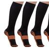 Life Shop  Unisex Copper-Infused Compression Socks (5-Pack)