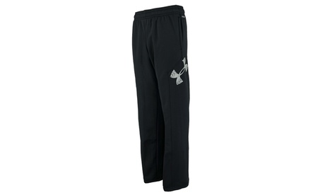 Under Armour Boys' UA Storm Armour Fleece Big Logo Pants 87ef3281-9116-465e-9b18-b17e74ebf649