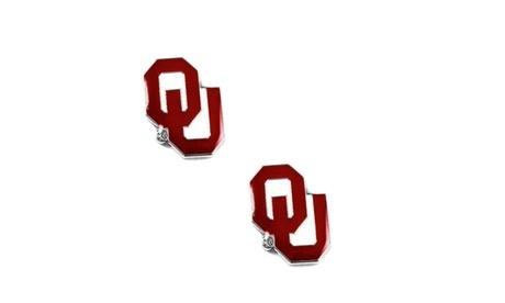 Oklahoma Sooners Post Stud Logo Earring Set NCAA Charm 5c954b5b-1e6f-40c9-af4e-22912f10dba1