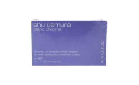 Blanc: Chroma SPF 50 UV Protector by Shu Uemura for Unisex - 1.35 oz cf74fe82-bc3c-4bd8-b766-8b8f1b030bf8