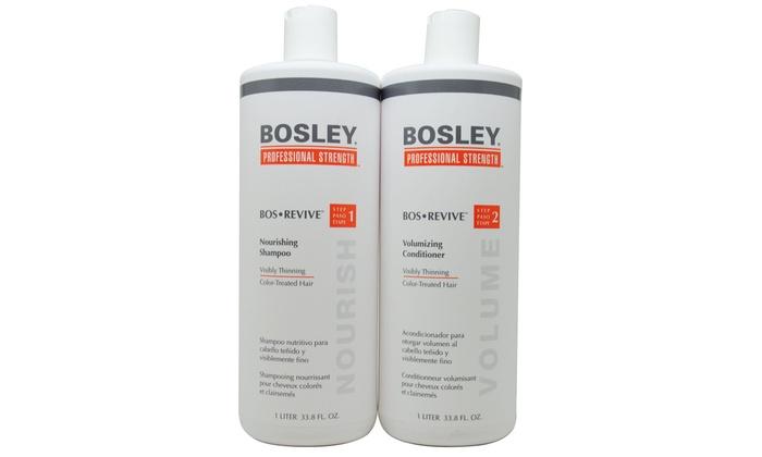 Bosley Bos Revive Shampoo And Conditioner Set Groupon