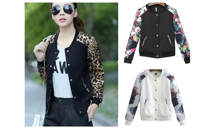 Plus 3XL women baseball jacket spring & winter model