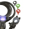 Lumintrail Bike Cable Lock with Illuminated Combination