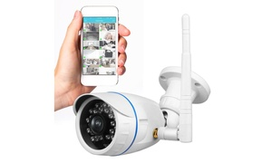 Outdoor HD Wireless IP Camera, Waterproof, WiFi, Surveillance, Night Vision
