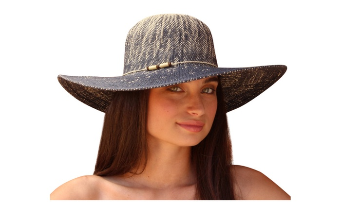Palms & Sand Moorea Womens Sun Hat Large Brim