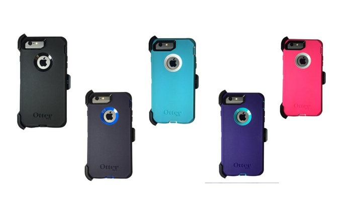 low priced 5eef4 0f1b2 Otterbox Defender Series Cases for iPhone7 iPhone7 Plus   Groupon