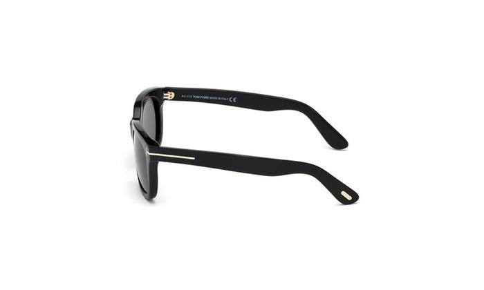 ecc1e702ae38 Tom Ford Tf 198 01a Campbell Black Sunglasses