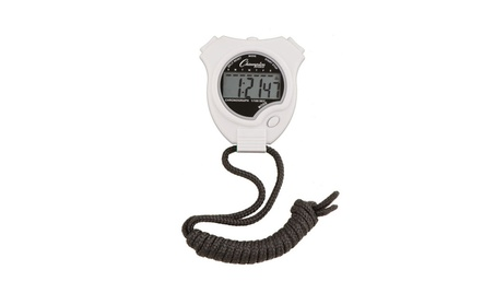 Champion 910WH Sports Stopwatch (White) 059038b4-a89f-45fb-be58-6f3ba5d7dd2e