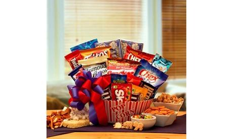 Snack time Favorites Gift Basket 68604676-2032-41f8-81f7-440b9baa14d8