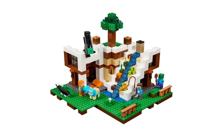 LEGO® Minecraft The Waterfall Base 21134 c29b0a25-5315-47c1-96d6-5ba68f34a9be