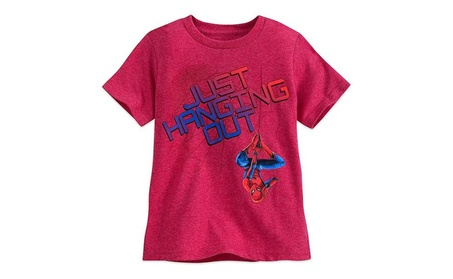 Marvel Spider-Man Heathered T-Shirt For Boys Red f369a2f6-ac8c-4c9a-8a50-9956f8a36947