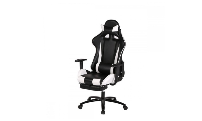Genial White Gaming Chair High Back Computer Chair Ergonomic Design Racing