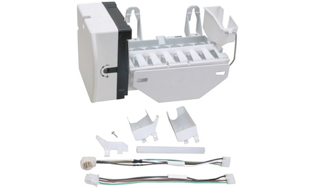 Exact Replacement Parts Ice Maker With Harness For Ge Wr30x10093 photo