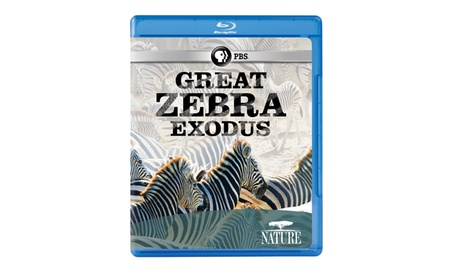 NATURE: Great Zebra Exodus Blu-ray bde51bc1-653b-438f-847e-2972756f02a8