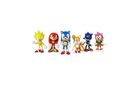 6 PCS Action Figures Sonic The Hedgehog Amy Tails Doll Toys Mephiles 9c6616eb-51c4-4671-a416-46fe152a991e