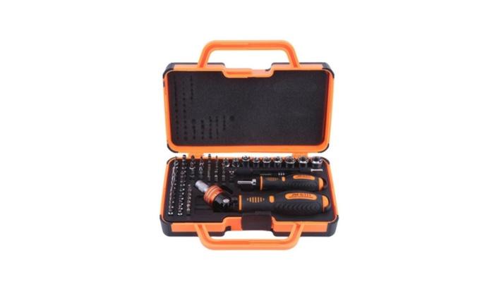 Set Jakemy JM-6111 69 In 1 Household Double Ratchet Screwdriver USA
