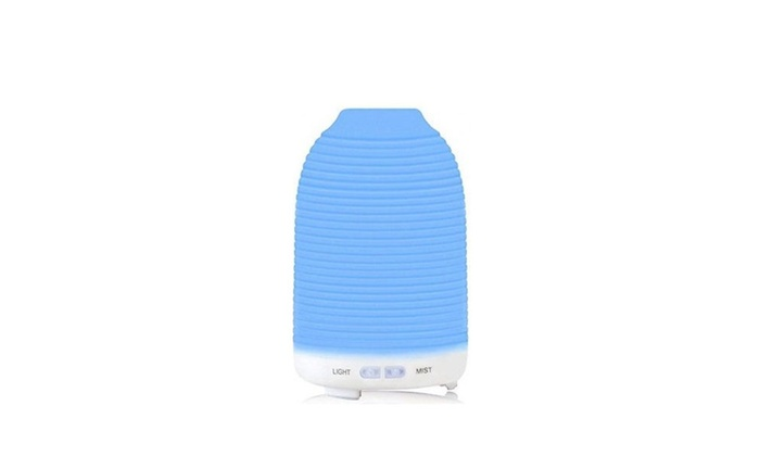New Ultrasonic Aroma Humidifier with 7 Color Changing LED Lamps 120ml