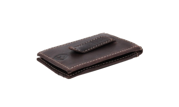 f5bfad8974ca4 Timberland Thin Mens Money Clip Wallet Genuine Delta Leather Efficient