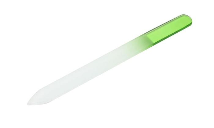 10Pcs Durable Crystal Glass Nail File Buffer Art Files Manicure ...
