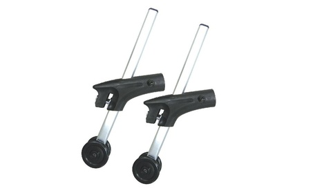 Anti Tippers With Wheels For Cougar Wheelchairs, 1 Pair 9d8a3753-5c81-43dc-bce0-54f84a2df9d7