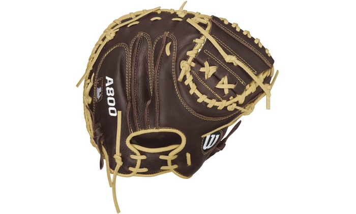 Wilson Showtime A800 Catcher's Mitt 34in-RH