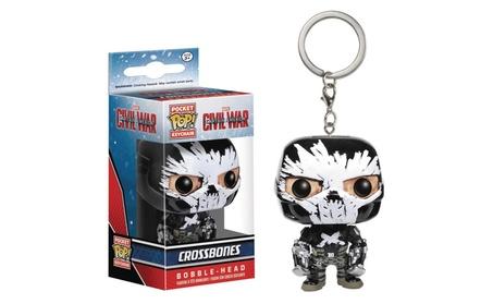 Funko Pocket Pop Keychain Captain America Civil War Crossbones 74eb5a05-6cfc-4b7c-af94-ef8ea26404f2