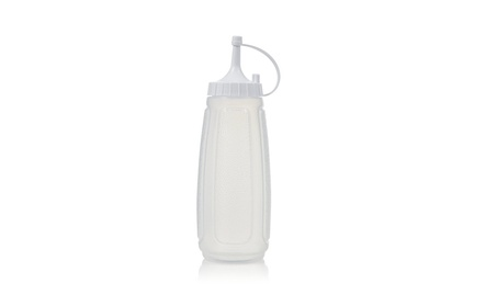 Arrow Plastic 064 Frosted Squeeze Bottle - White 3bb151d5-307e-41a6-8a1c-4506eb86919e