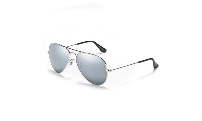 Mechaly Aviator Style Unisex Sunglasses - 100% UV Protection