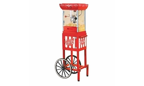 Nostalgia Electrics Ccp399 Old Fashioned Movie Time Popcorn Cart photo