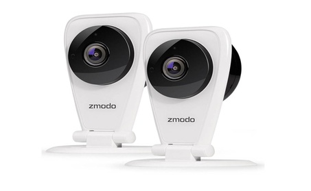 115°Wide Angle 720p HD Wireless Two-Way Audio Home Security Camera