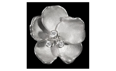 Pansy Pearl Enhancer-Interchangeable to beads and cords