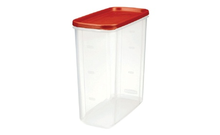 Rubbermaid 1776473 Dry Food Storage, 21 Cup, Clear Base 9ab4dd70-9b8e-4c89-a89d-07c5446c0686