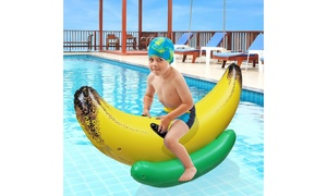 Greenco Inflatable Ride-On Pool Floats