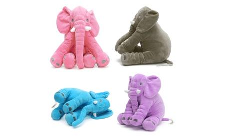 Baby/Kids Soft Plush Elephant Sleep Pillow Kids Lumbar Cushion cdd6277c-ae8a-432f-a743-e687073fabb2