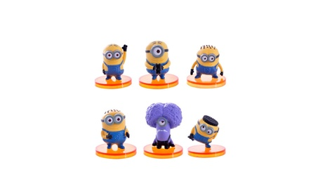 New 6pcs Minions Despicable Me 3 Movie Figure Toys Doll for Baby Girl a67cd4da-d919-424d-8881-cec491befce4