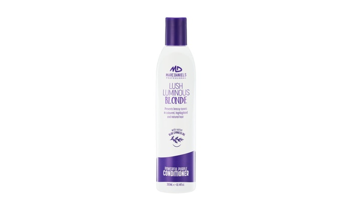 marc daniels purple shampoo review