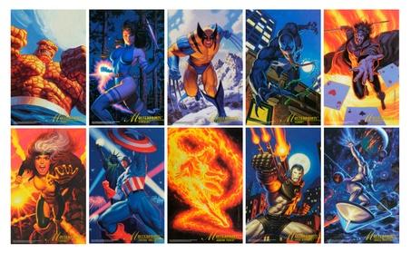 "Marvel Masterprints 6.5""x10"" Set of 10 Prints by Brothers Hildebrandt b0017cd5-371d-4f65-a8ed-c34646f4f068"