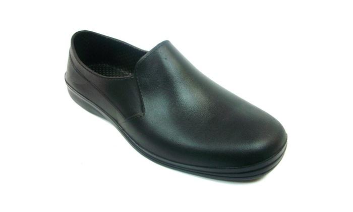 Unisex Non-Slip Work Clogs Slip On Scrub Shoes
