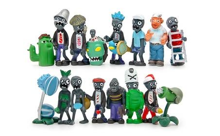 16pcs Plants vs Zombies Toys Full Set Action Collection Model Toy Gift 4160b54c-cdb8-4671-9eba-644ad3622590