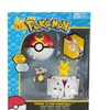 Pokemon Throw n Pop Pikachu & Poke Ball Cubone Repeat Action Figure
