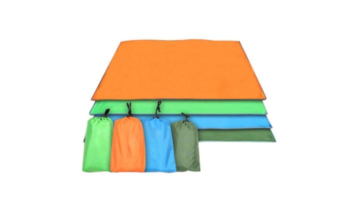 New Orijinal Waterproof Picnic BBQ Ground Sheet Pad Mat Beach Blanket