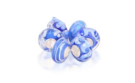 Bling Jewelry Simulated Topaz Glass Lampwork Bead Bundle 925 Silver 80643dbc-8519-41df-ab00-3110fb2b50b4