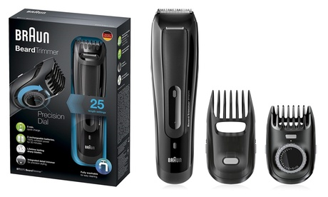 Braun BT5070 Men's Cordless and Rechargeable Beard Trimmer photo