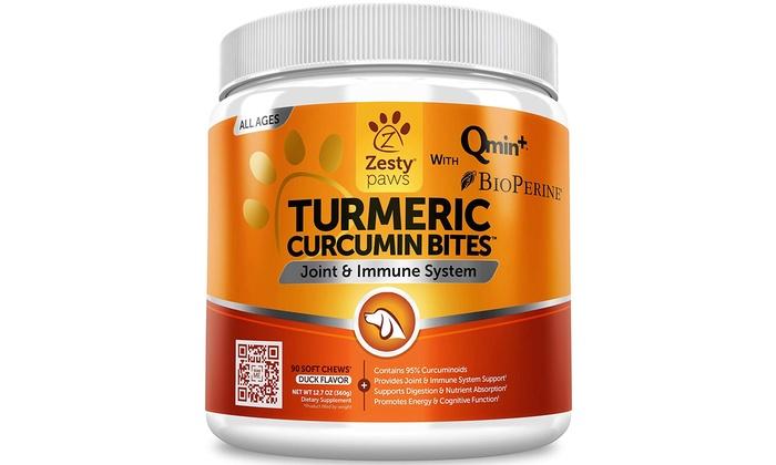 Zesty Paws Turmeric Curcumin for Dogs