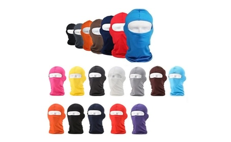 Outdoor Ski Motorcycle Cycling Balaclava Lycra Full Face Mask fe3509a7-c511-4f6c-9e85-9bd8d5a6a41b