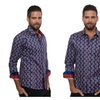 """""""Leaves of Spring"""" Men's Button Down Shirt"""
