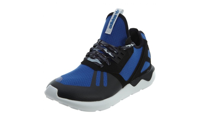 size 40 21cee fa761 Adidas Tubular Runner B25953 Men s Running Shoes Royal Blue Black