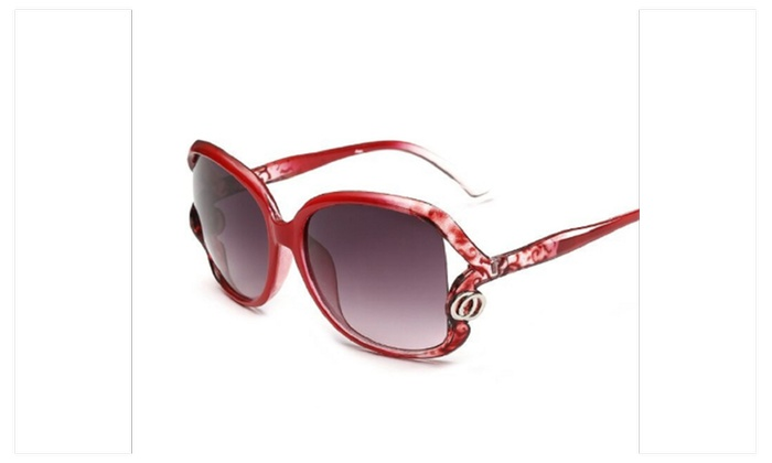 Vintage Women Designer Sunglasses Points Eyewear