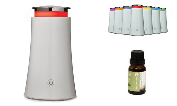Unique Humidifier With Free 15 ml Essential Oil And Auto Shut Off